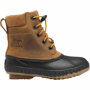 Sorel YOUTH CHEYANNE II VEG  2 - Chlapecká zimní obuv