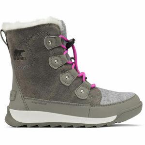 Sorel YOUTH WHITNEY II JOAN LACE  2 - Dívčí zimní obuv