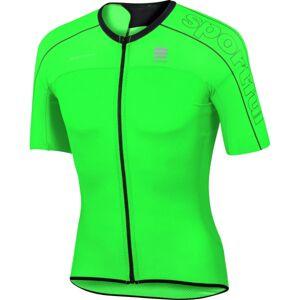 Sportful B FIT UL.LIGHT JER zelená 2xl - Cyklistický dres