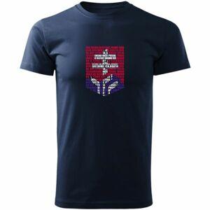 Střída LOGO Z HYMNY SVK tmavě modrá 123-128 - Dětské triko
