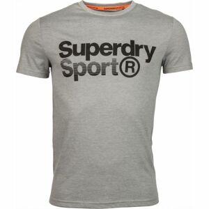 Superdry CORE SPORT GRAPHIC TEE černá 8 - Pánské tričko