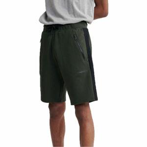 Superdry URBAN TECH SHORT tmavě zelená M - Pánské šortky