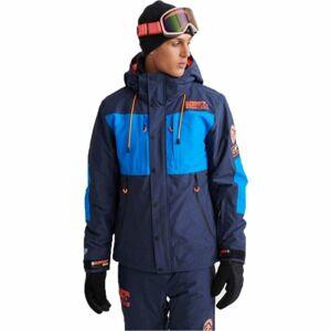 Superdry SD MOUNTAIN JACKET tmavě modrá 2XL - Pánská lyžařská bunda