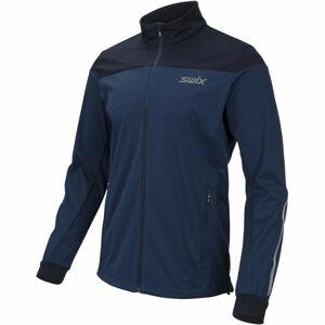 Swix CROSS M  L - Pánská sportovní softshellová bunda