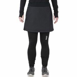 Swix MENALI černá XL - Krátká prošívaná sukně