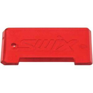 Swix Plastová škrabka červená UNI - Škrabka