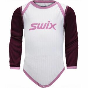 Swix RACEX bílá 56 - Dětské funkční body