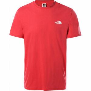 The North Face M S/S SIMPLE DOME TEE  XL - Pánské tričko s krátkým rukávem