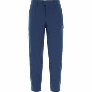 The North Face INLUX CROPPED PANT modrá 2 - Kalhoty ve zkrácené délce