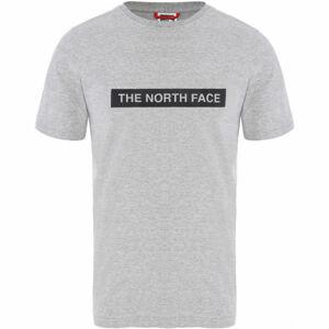 The North Face LIGHT TEE šedá M - Pánské triko
