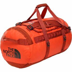 The North Face BASE CAMP DUFFEL M oranžová NS - Sportovní taška