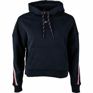Tommy Hilfiger RELAXED TAPE HOODIE LS  M - Dámská mikina