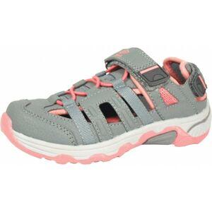 Umbro MIGEL šedá 33 - Dětské sportovní sandály