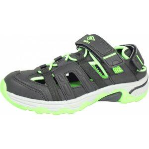 Umbro MIGEL černá 37 - Dětské sportovní sandály