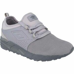 Umbro ASPIN II tmavě šedá 10.5 - Pánská volnočasová obuv