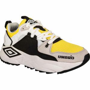 Umbro RUN M LE černá 9.5 - Pánská volnočasová obuv