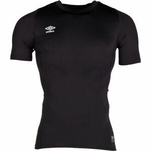 Umbro CORE SS CREW BASELAYER černá S - Pánské sportovní triko