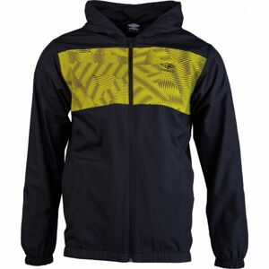 Umbro CAGOULE  JACKET žlutá L - Pánská sportovní bunda