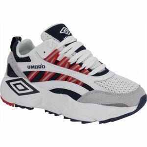 Umbro NEPTUNE bílá 9 - Pánská volnočasová obuv