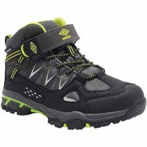 Umbro DUNCAN černá 28 - Dětská treková obuv