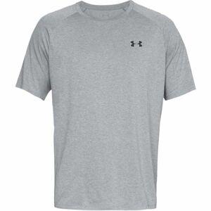 Under Armour UA TECH 2.0 SS TEE šedá XL - Pánské triko