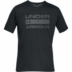 Under Armour TEAM ISSUE WORDMARK SS černá L - Pánské triko