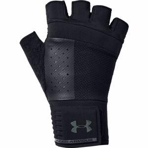 Under Armour MEN'S WEIGHTLIFTING GLOVE černá L - Pánské rukavice