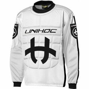 Unihoc SHIELD SWEATER JR  140 - Florbalový brankářský dres