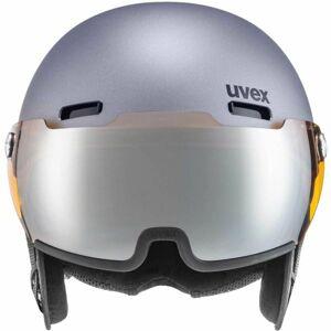 Uvex HLMT 500 VISOR šedá (59 - 62) - Lyžařská helma