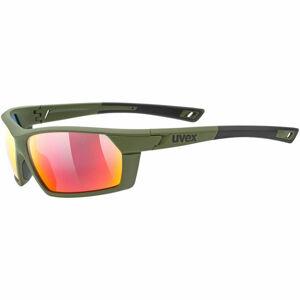 Uvex Sportstyle 225 tmavě zelená NS - Sportovní brýle