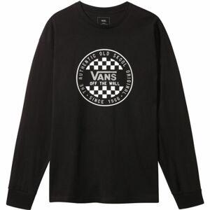 Vans MN OG CHECKER černá XS - Pánské triko s dlouhým rukávem