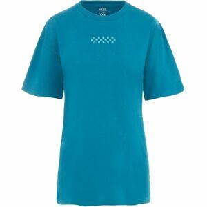 Vans WM OVERTIME OUT modrá S - Dámské tričko