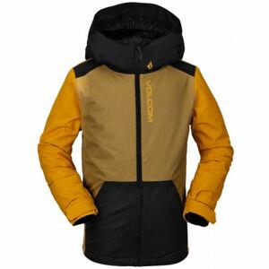 Volcom VERNON INS  M - Zateplená dětská zimní bunda