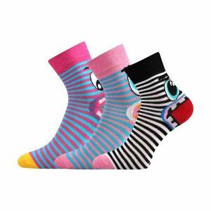 Voxx TLAMÍK černá 14-16 - Dívčí ponožky