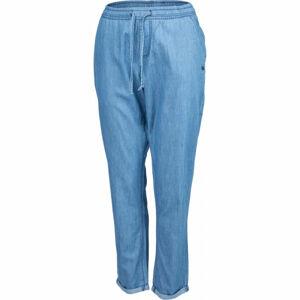 Willard AMMA modrá M - Dámské plátěné kalhoty džínového vzhledu