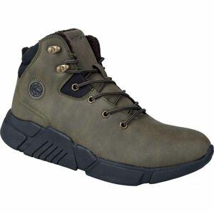 Willard HARM tmavě zelená 43 - Pánská zimní obuv