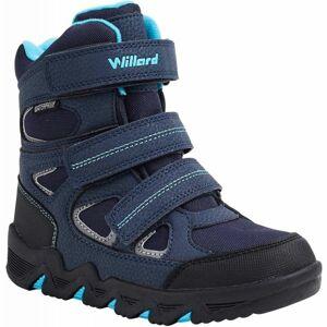 Willard CANADA HIGH modrá 30 - Dětská zimní obuv