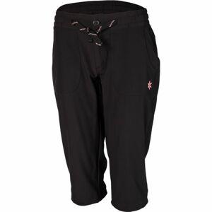 Willard KORTASA černá 38 - Dámské outdoorové 3/4 kalhoty