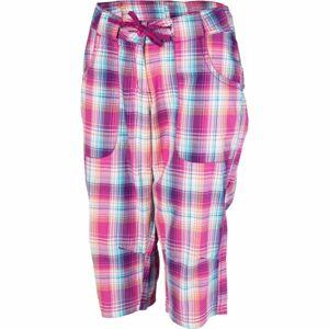 Willard LENTIL růžová 36 - Dámské plátěné 3/4 kalhoty