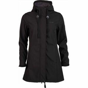 Willard SILVA černá M - Dámský softshellový kabát