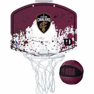 Wilson NBA MINI HOOP CAVALIERS  UNI - Mini basketbalový koš